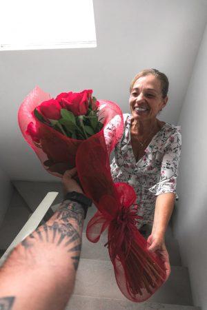 bloemen cadeau mama